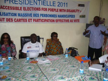 Presidentielles 2011: Dans la dignite